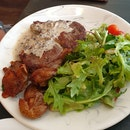 Grilled Ribeye ($25)