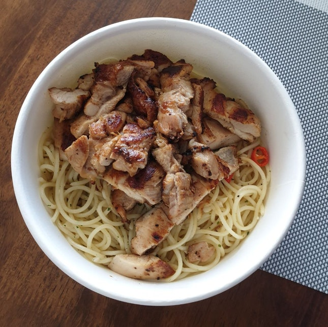 Chicken Chop Pasta ($8.50)