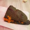 Charcoal Coconut Min Jiang Kueh ($1.60)
