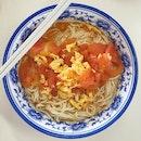 Tomato Egg La Mian ($5)