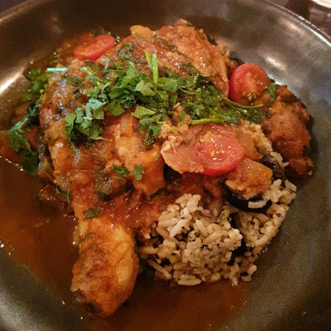 Moroccan Chicken Leg ($22)