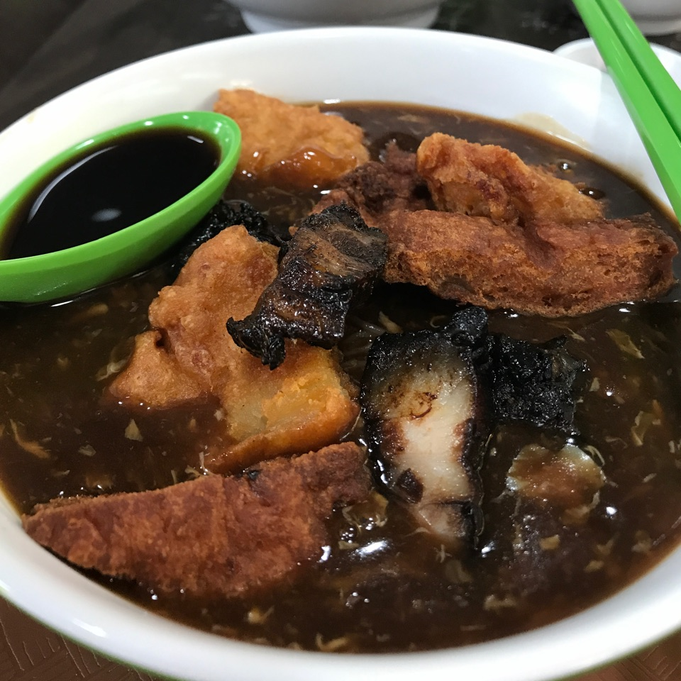 Lor Mee With Fried Fish