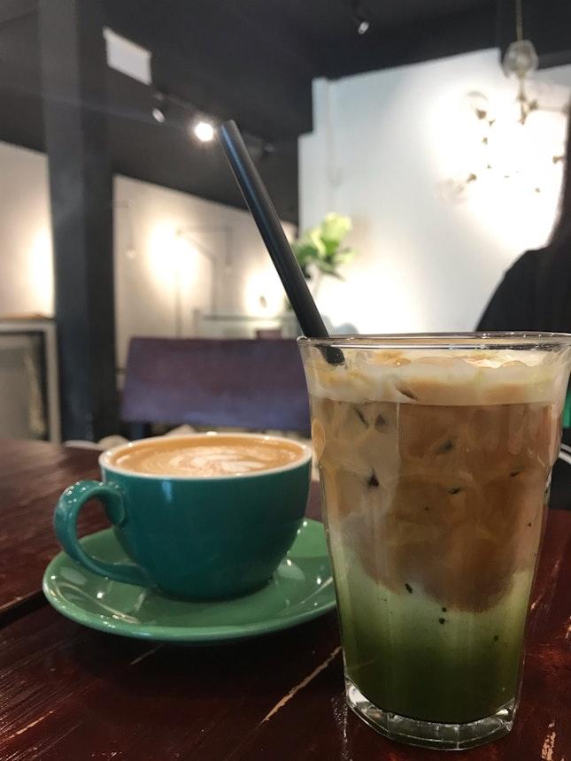 Green Shot aka Matcha Espresso