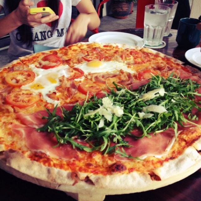 For XXL Pizzas