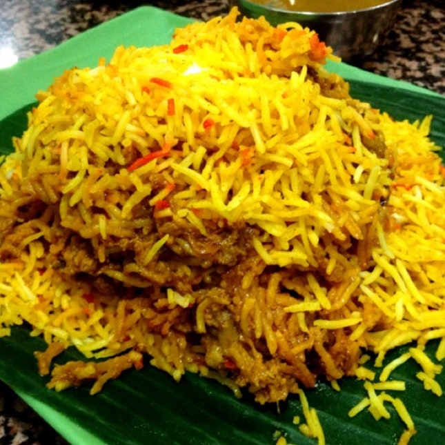 For Heavily Spiced Briyani