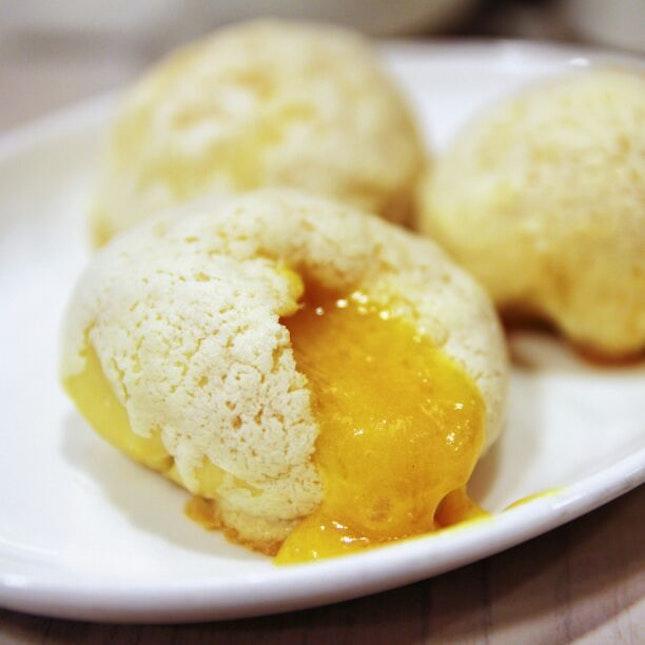 For Baked Liu Sha Buns