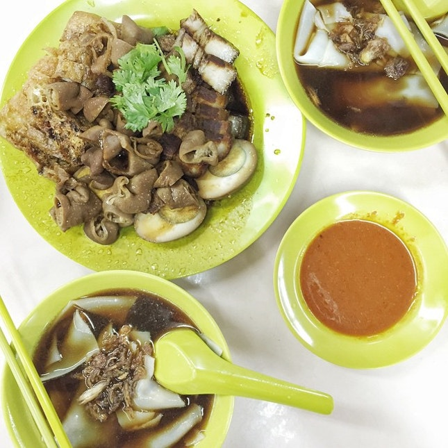 Kuay Chap: One of my favourite places to eat this local delight