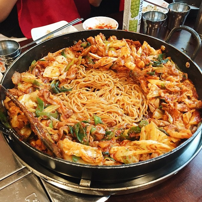 For Massive Chicken Galbi