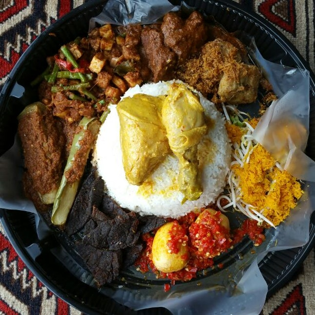 For Giant Nasi Ambeng Sharing Platters