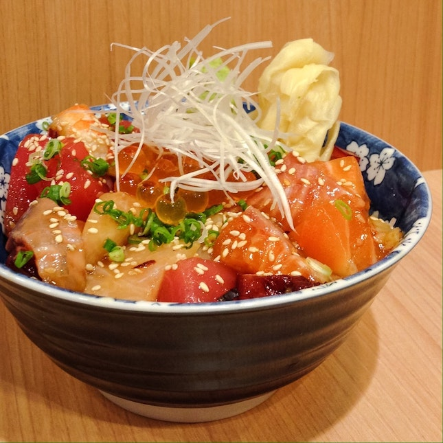 For Value for Money Chirashi Don