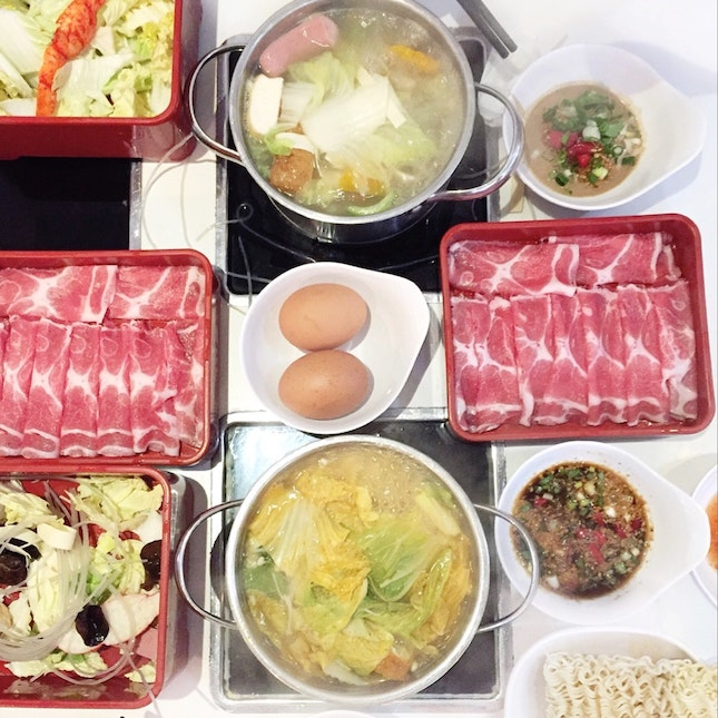 For a Hotpot Lunch on Cold Days