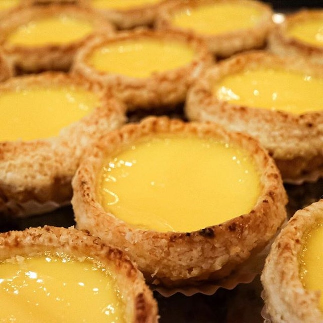 For Famed Egg Tarts and Pineapple Buns in Town