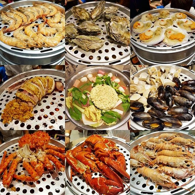 For Tiered Korean Seafood Hot Pot