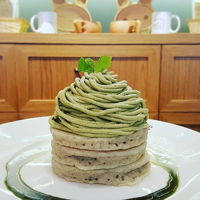 For Famed Japanese Pancakes in Novena