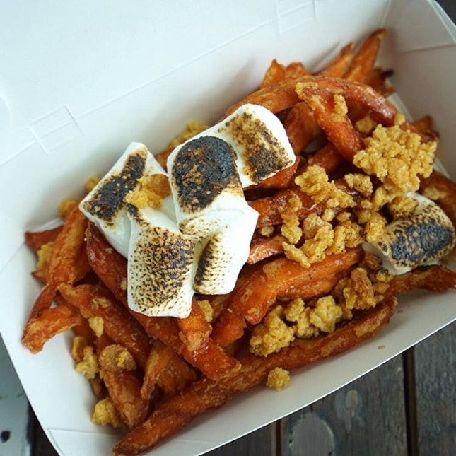 For Over the Top Sweet Potato Fries
