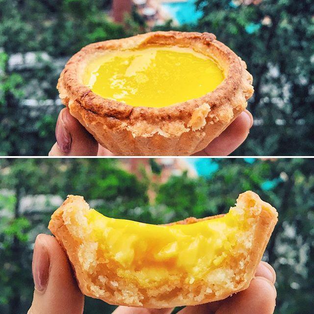 For Famed Egg Tarts from Hong Kong
