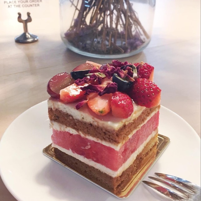 For Unique Strawberry Watermelon Cake