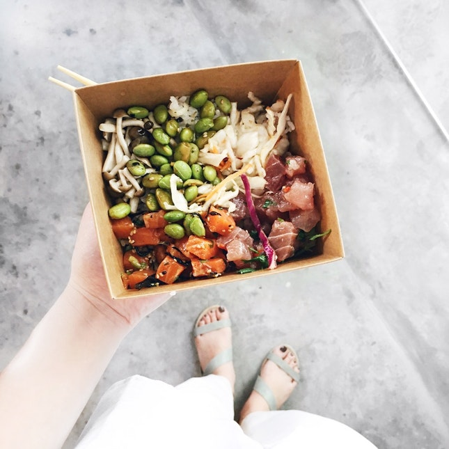 For Tasty Poke Bowls in One-North