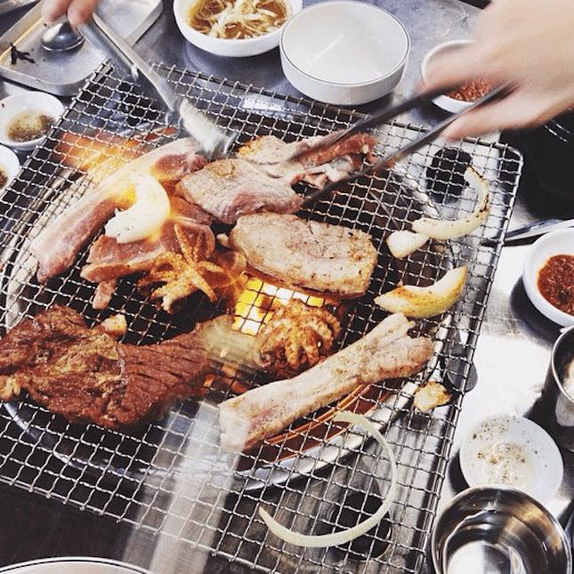 For A Legitimate Korean BBQ Experience