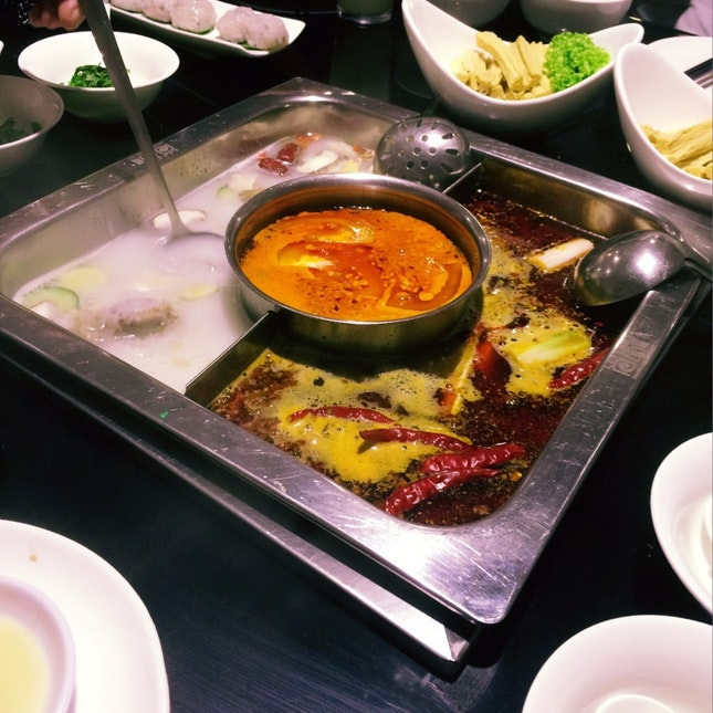 For Late Night Hot Pot