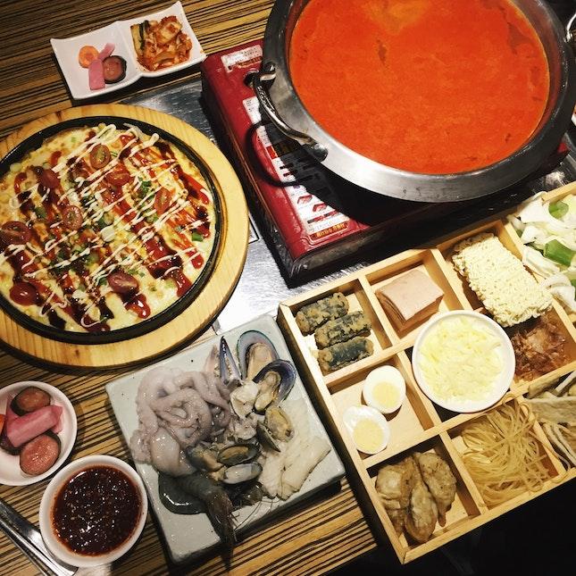 For Irresistibly Tasty Korean Stews in Suntec