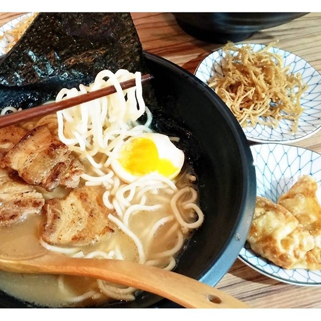 For Ramen with Melt-in-your-Mouth Grilled Meats