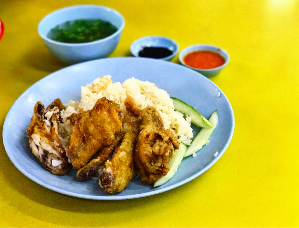 For Amazing Fried Chicken Wing RIce