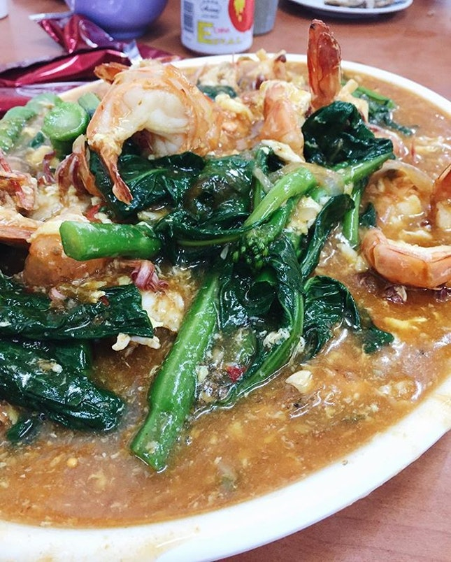 For Gravy-Ladened Prawn Hor Fun