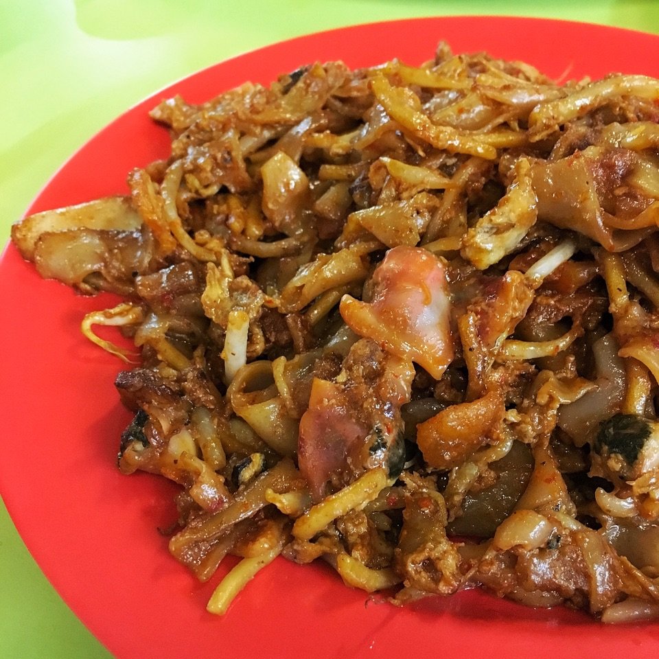 For Smoky and Eggy Char Kway Teow