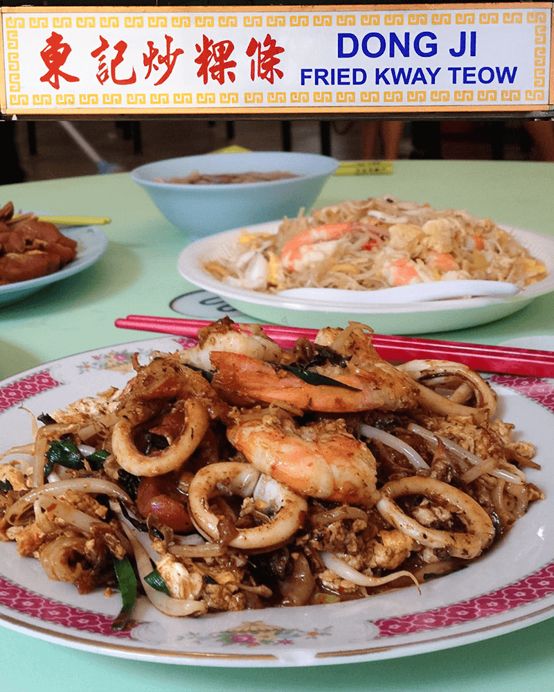For Light but Flavourful Char Kway Teow