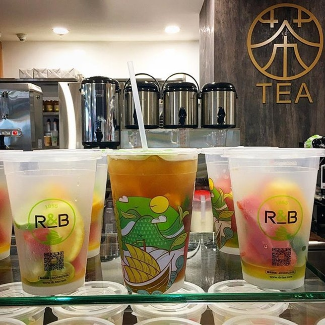 For Fruit-Infused Teas from Taiwan