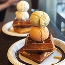 For 1-for-1 Ice Cream and Waffles to Hit The Spot
