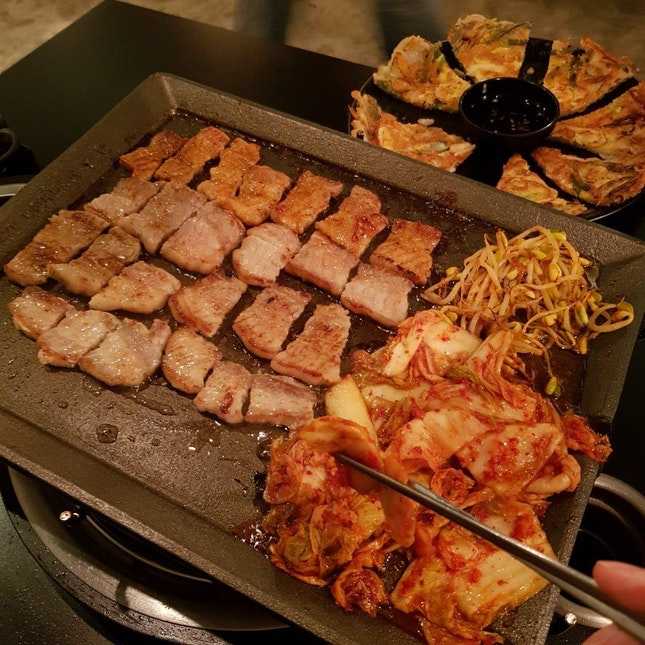 For a Korean Barbecue Party