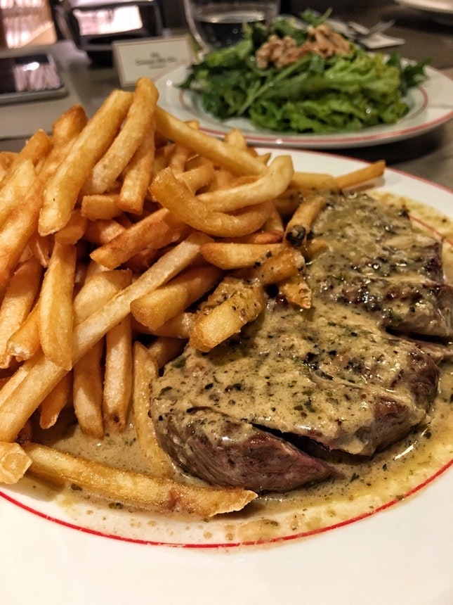 For 1-for-1 Entrecote Steak and Fries
