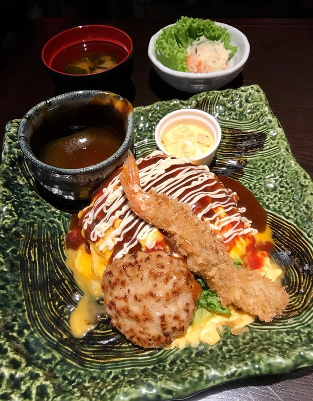 For Consistently Good Omurice