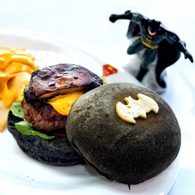 For 1-for-1 Dark Knight Burger/Main Dish (save ~$39)