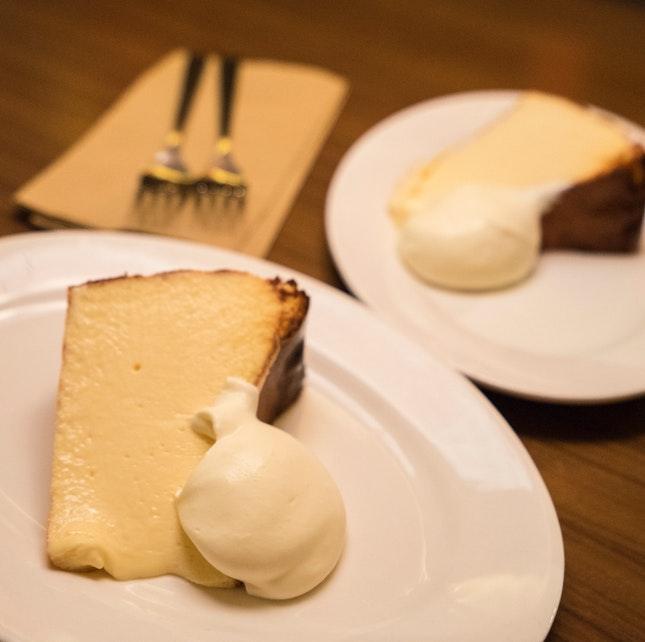 For the Perfect Burnt Cheesecake