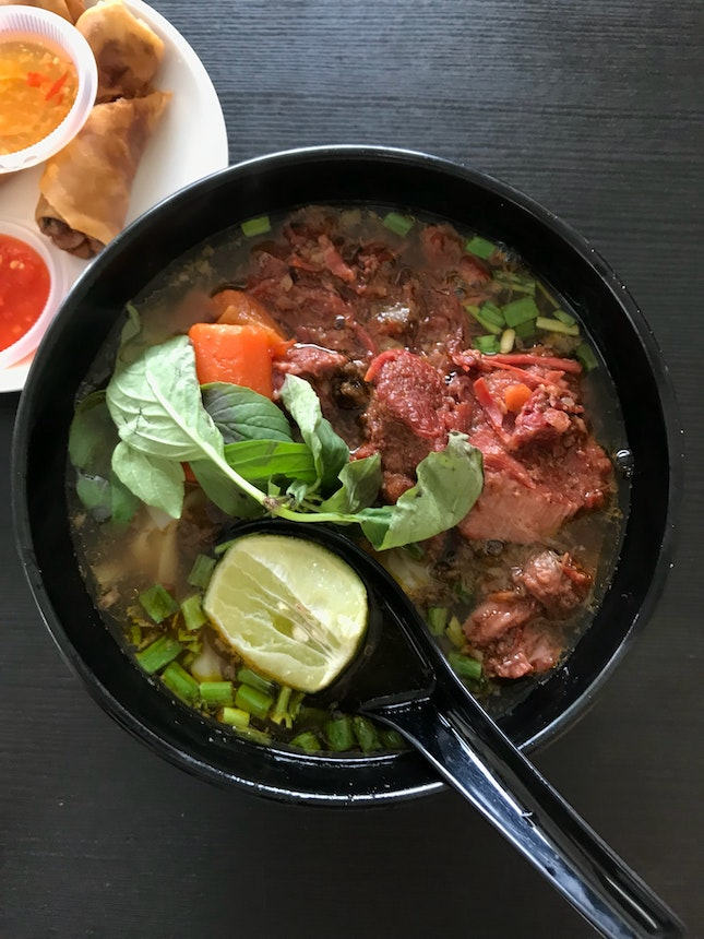 For Tummy-Warming Pho