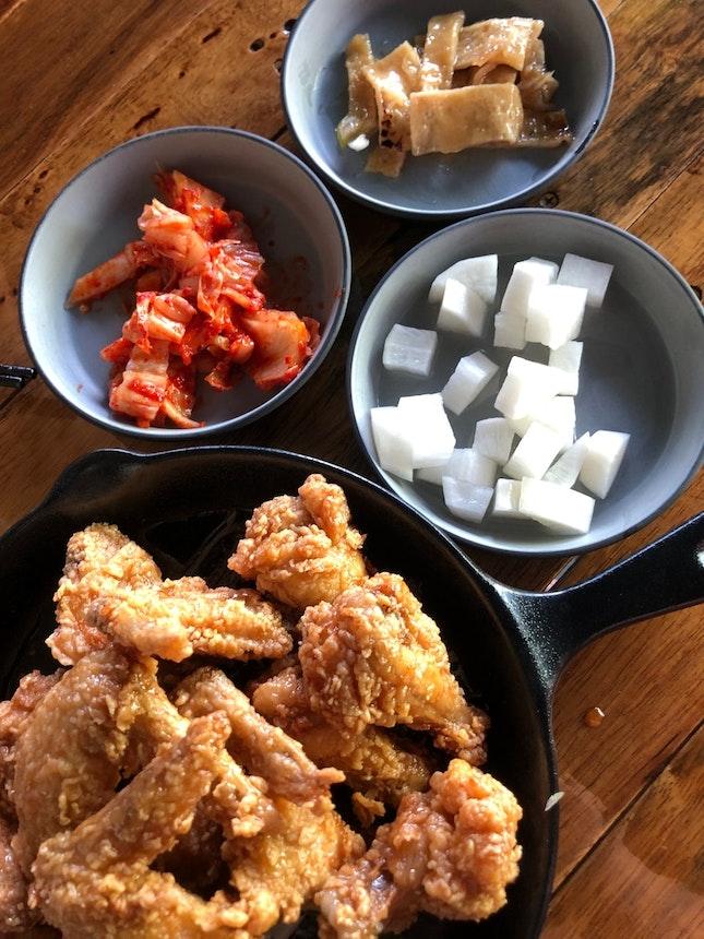 For Korean Chicken in Jurong