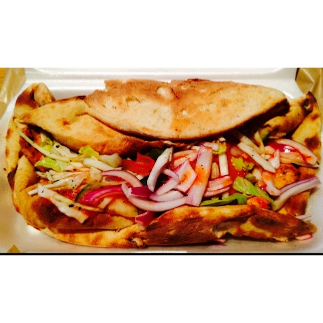 Omg! Its A Super Ginormous Kebab