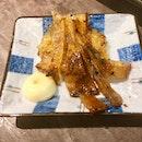 #burpple | #pufferfish skin bbq in mirin tastes like #bakwa 👍🏻