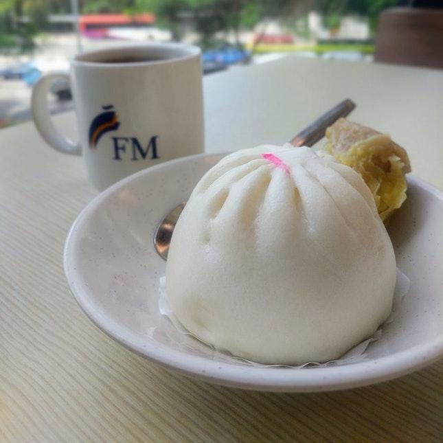 Simple Breakfast: Chicken Pau & Teh-o