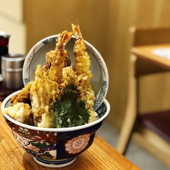 Natsumi Tendon @kohakutendon Their usual standard maintained however, I personally feel that eel doesn't taste as good in tempura form .