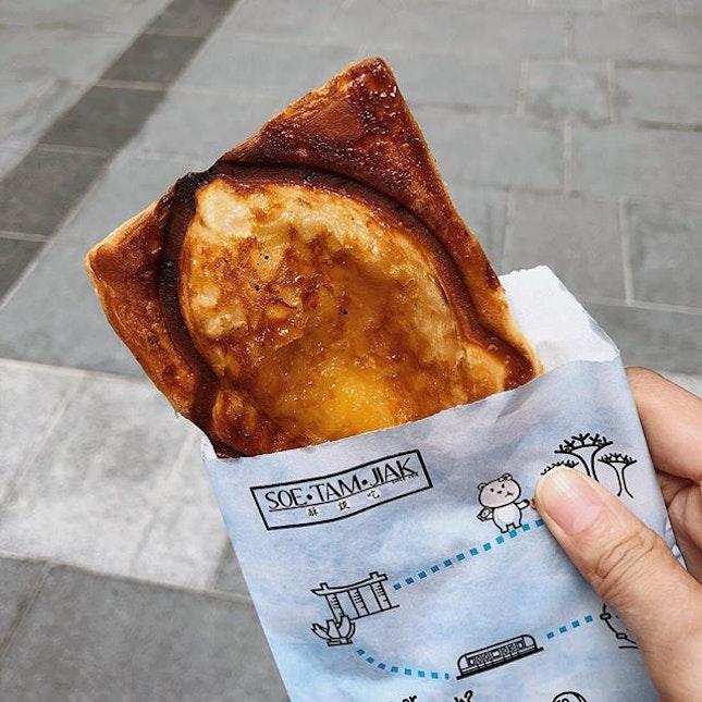 Crispy Taiyaki Croissant @soetamjiak with many flavours to choose from.