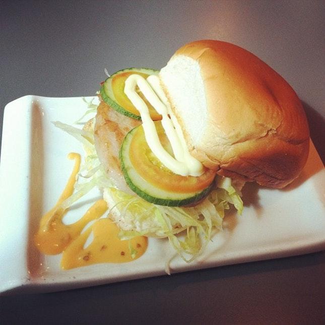 pork chop burger