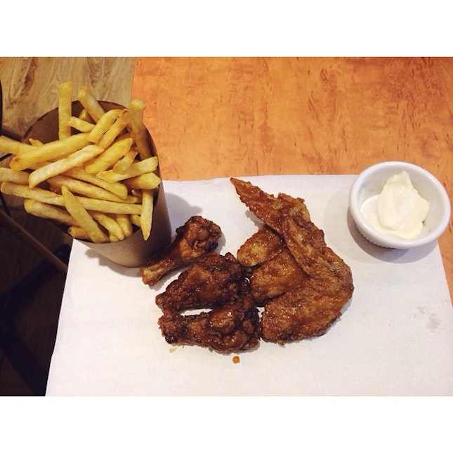 3pcs Soy Garlic Crispy Chicken Combo with Fries