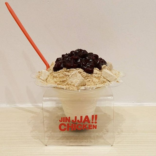 So into desserts nowadays that a Pat Bingsu is almost necessary to cool down.