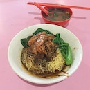 Beef Brisket + Tendon Noodles from Lao Jie FangThe beef brisket was braised with flavour and was not too tough on texture, while the beef tendon was melt-in-your-mouth tender.