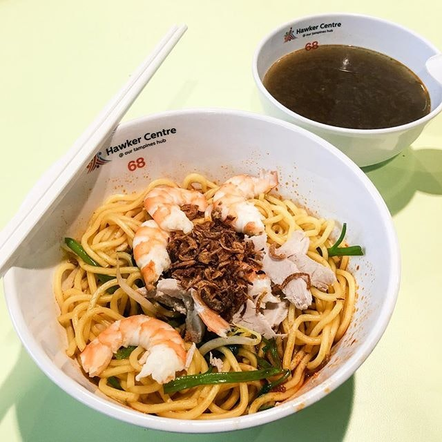 Our Tampines Hub Hawker Centre