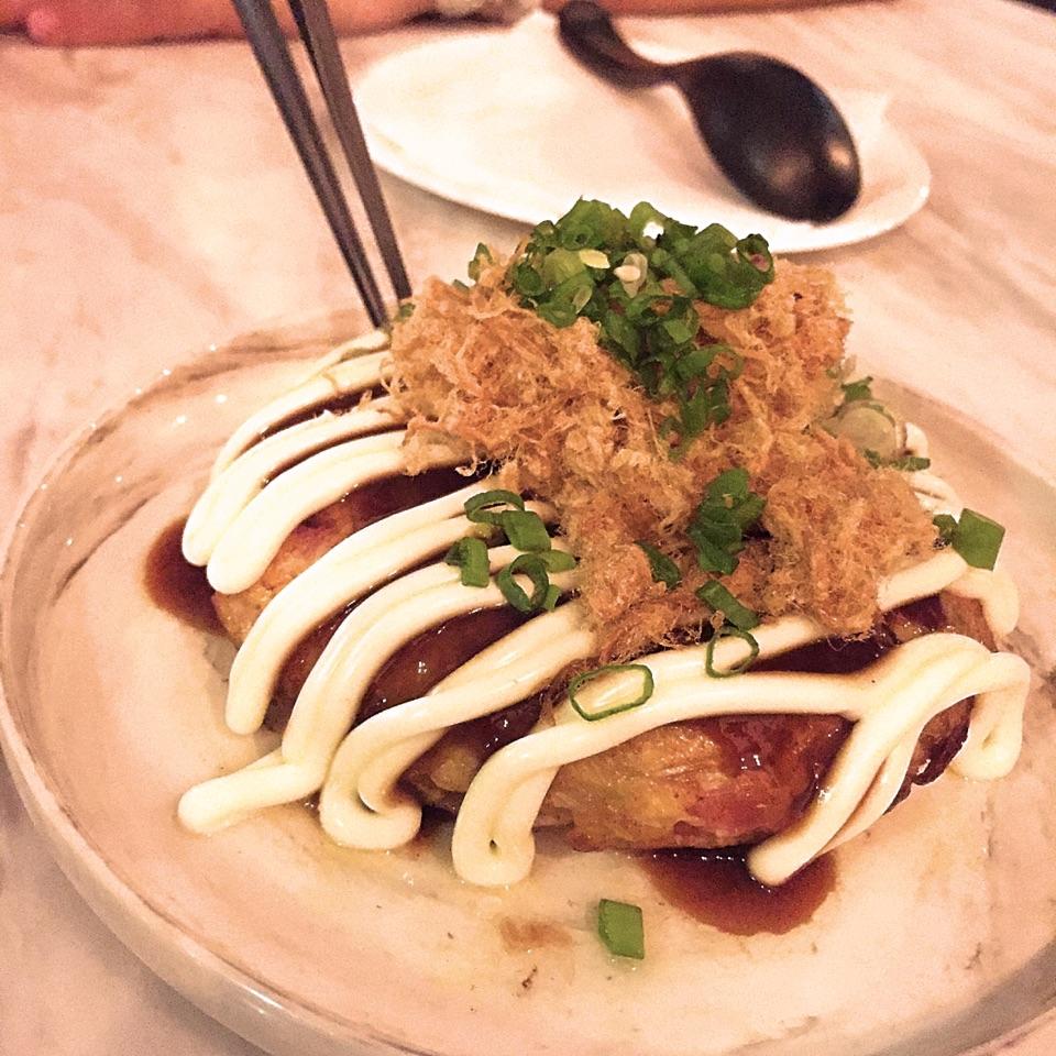 Surf & Turf Okonomiyaki ($12)